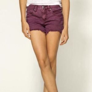 FP Free People | Cut Off Distressed Jean Shorts